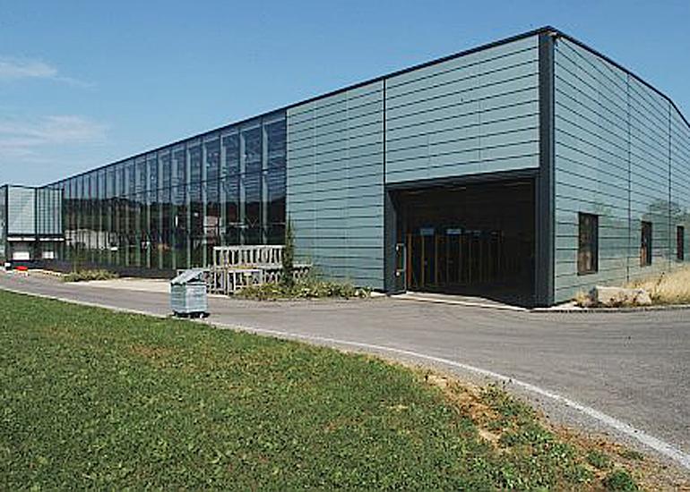 Stahlhalle Glas Trösch Gossau