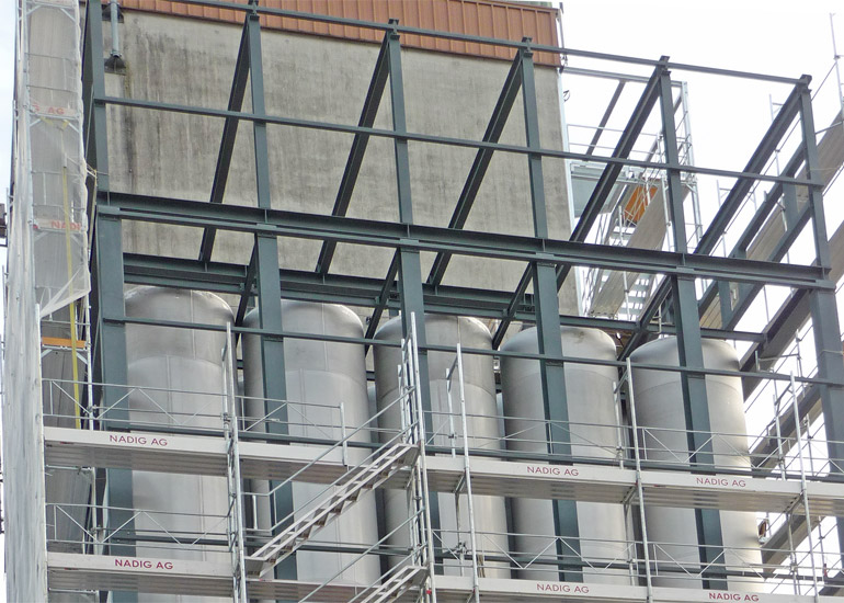 Spezialkonstruktion durch Hofstetter AG Stahlbau