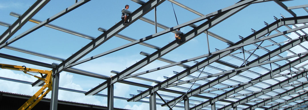 Montagearbeiten im Stahlbau